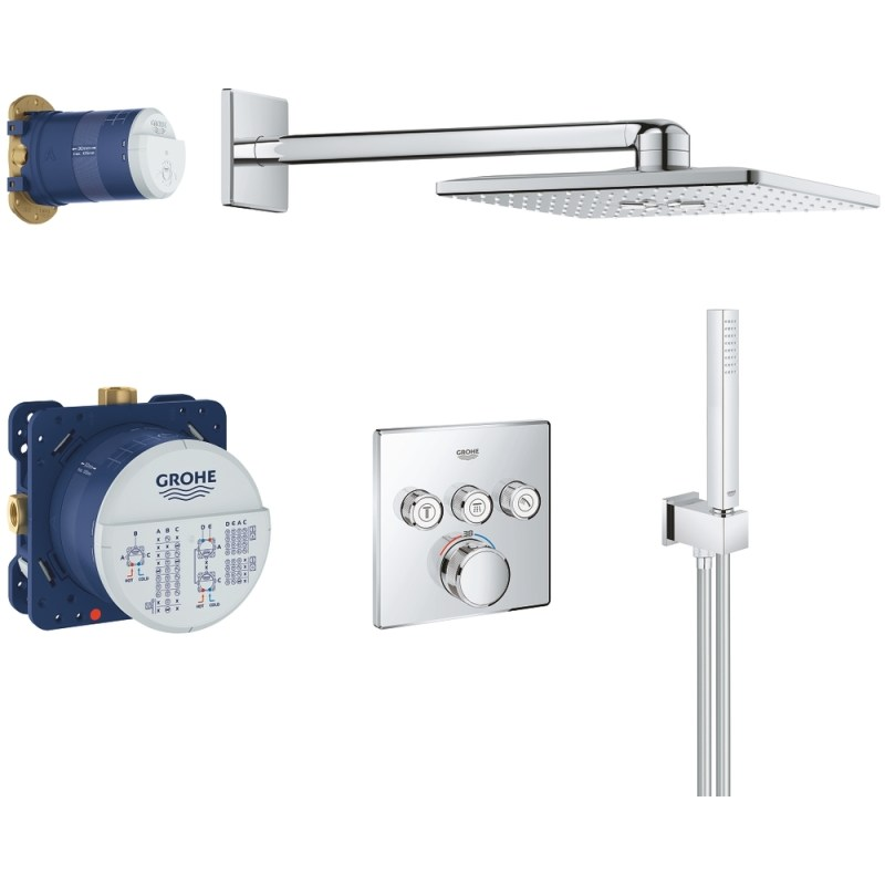 Grohe Grohtherm Smartcontrol Cube Perfect Shower Set 34706