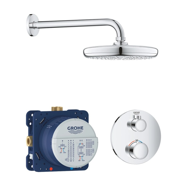 Grohe Grohtherm Tempesta 210 Perfect Shower Set 34726