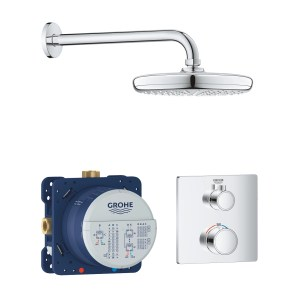 Grohe Grohtherm Square Tempesta 210 Perfect Shower Set 34728