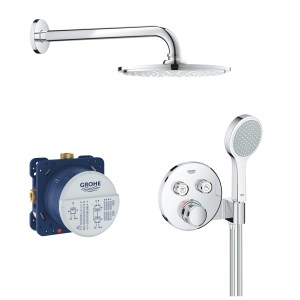 Grohe Grohtherm SmartControl Mixer Bundle Round 34743