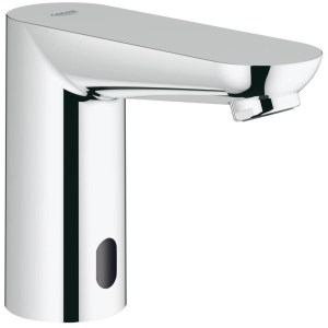 """Grohe Euroeco Cosmo E Infra-Red Basin Tap Mains 1/2"""" 36269"""