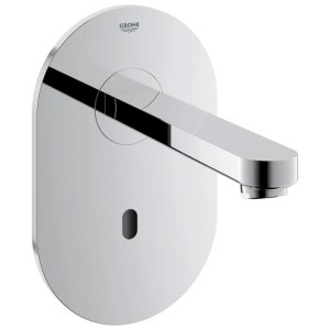 Grohe Euroeco Cosmopolitan E Infra-Red Wall Basin Tap 36273