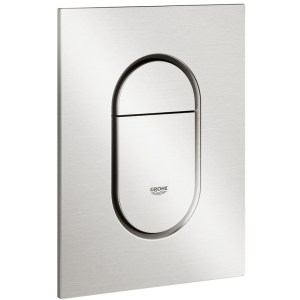 Grohe Arena Cosmopolitan S Dual Flush Plate 37624 Supersteel