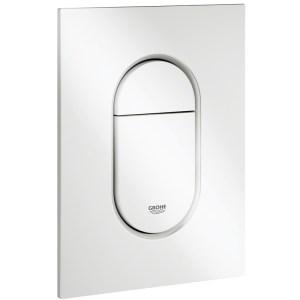 Grohe Arena Cosmopolitan S Dual Flush Plate 37624 Alpine White