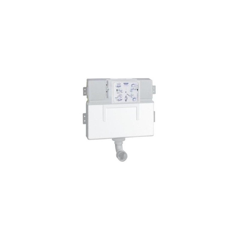 Grohe WC Concealed Cistern 0.82m 6/3 Litre 38422