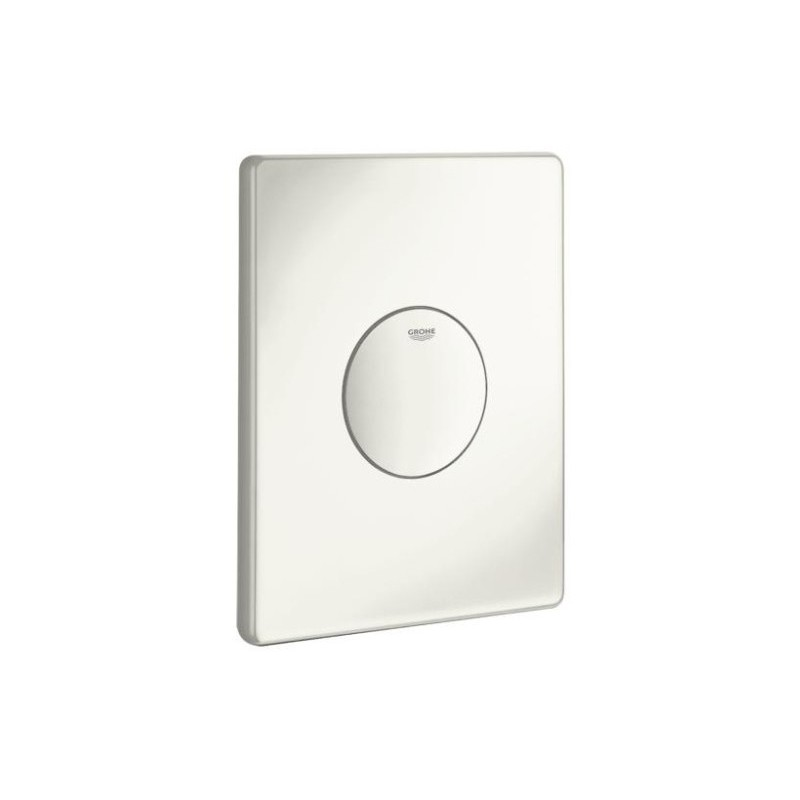 Grohe Skate WC Wall Plate 38573 Alpine White