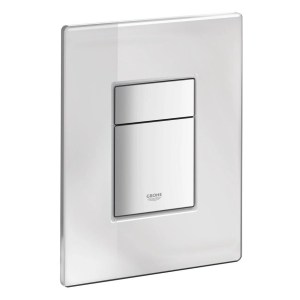 Grohe Skate Cosmopolitan WC Wall Plate 38916 Mirror Glass