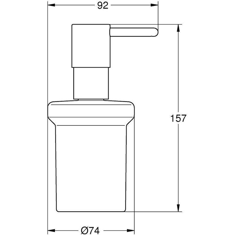 Grohe Essentials Soap Dispenser 40394 Brushed Cool Sunrise