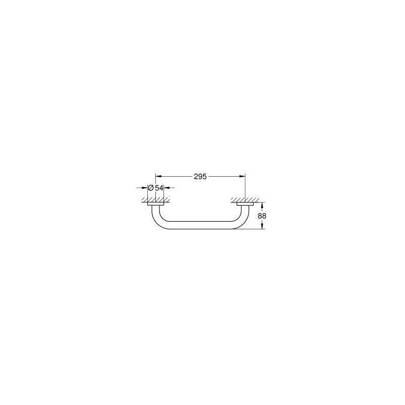 Grohe Essentials Grip Bar 40421