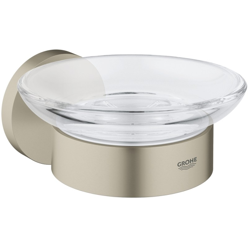 Grohe Essentials Soap Dish with Holder 40444 Brushed Nickel