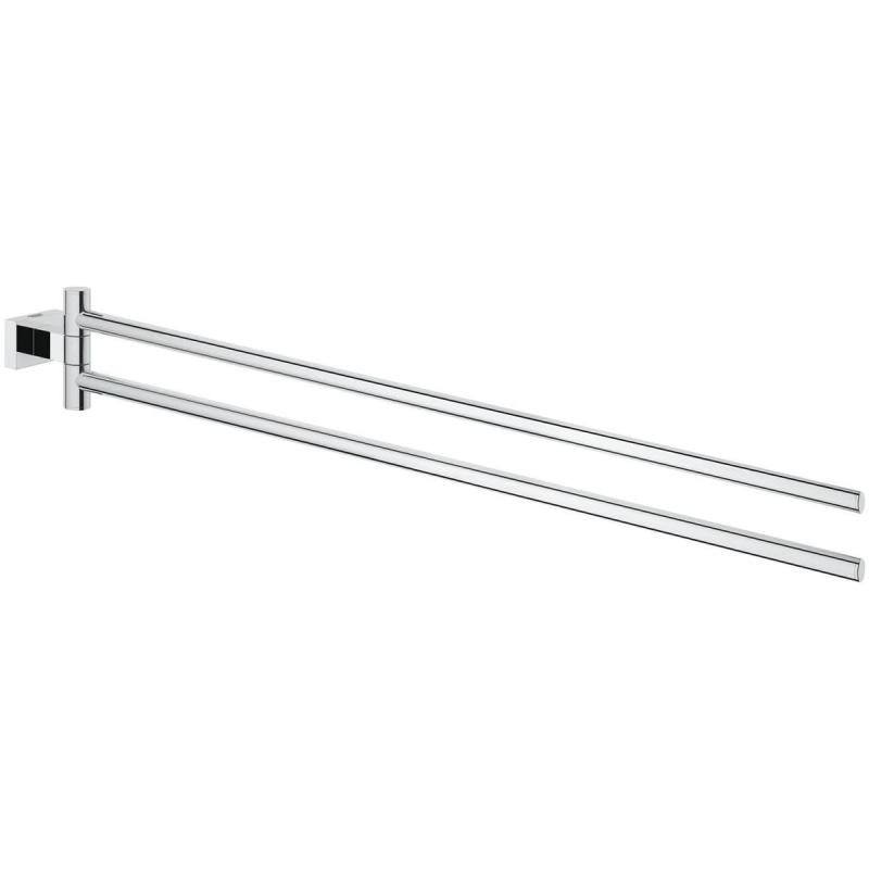 Grohe Essentials Cube Double Swivel Towel Bar 40624