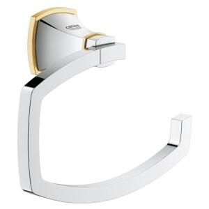 Grohe Grandera Toilet Roll Holder 40625 Chrome/Gold