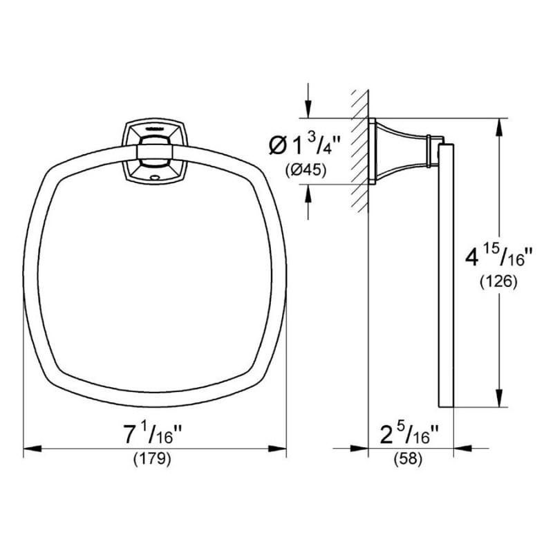 Grohe Grandera Towel Ring 40630 Chrome