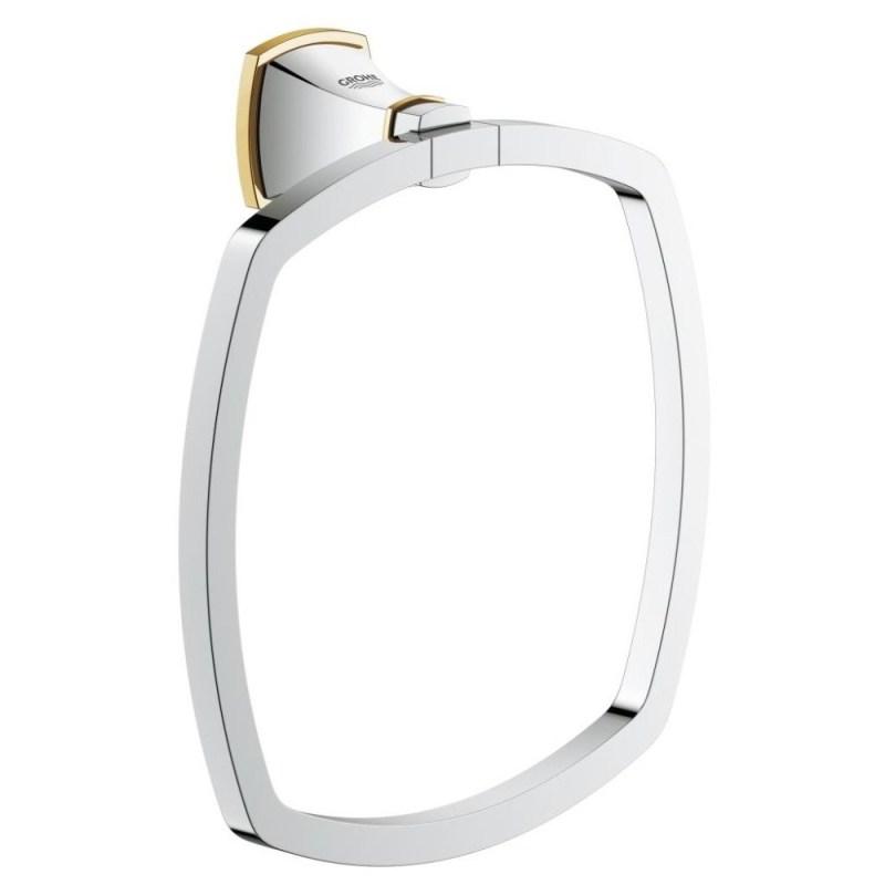 Grohe Grandera Towel Ring 40630 Chrome/Gold
