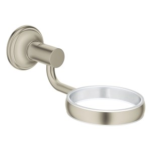 Grohe Essentials Authentic Holder 40652 Brushed Nickel
