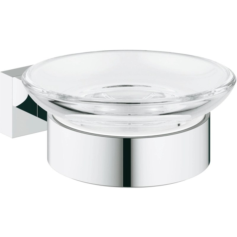 Grohe Essentials Cube Soap Dish with Holder 40754