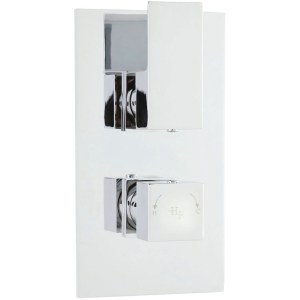 Hudson Reed Art Twin Thermostatic Shower Valve with Diverter