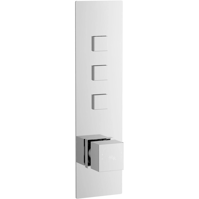 Hudson Reed Ignite Square Three Outlet Valve