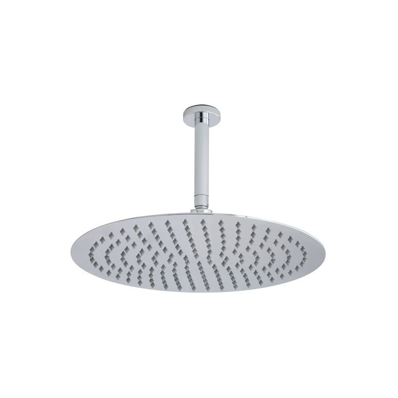 Hudson Reed Ceiling Mounted Round Head & Arm