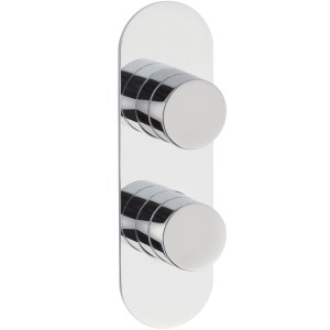 Hudson Reed Indus Twin Themostatic Shower Valve