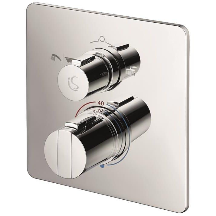 Ideal Standard Concept Easybox Slim Bath Shower Mixer Square