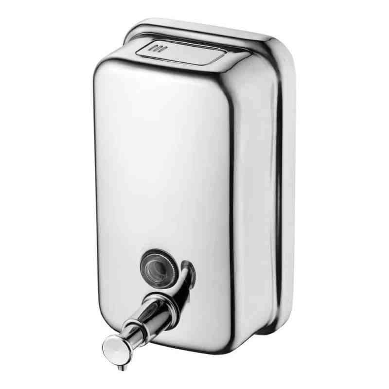 Ideal Standard IOM Soap Dispenser Polished Stainless Steel A9103