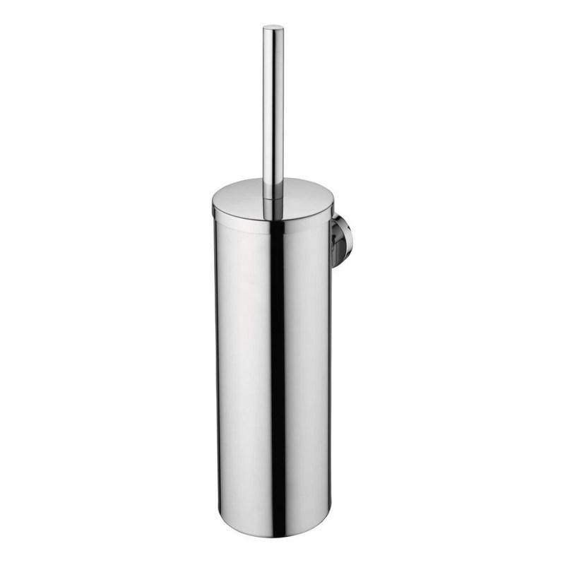 Ideal Standard IOM Wall Toilet Brush & Holder A9128 Satin Steel