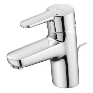 Ideal Standard Concept Blue Basin Mixer with Waste B9915