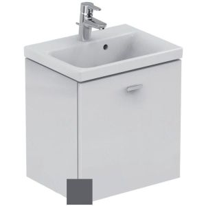 Ideal Standard Concept Space 500mm Wall Basin Unit E0312 Grey