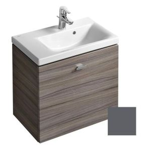 Ideal Standard Concept Space 600mm Wall Basin Unit LH E0314 Grey