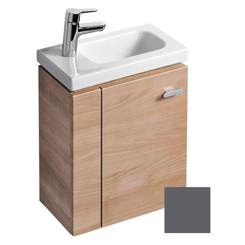 Ideal Standard Concept Space 450mm Wall Basin Unit LH E0370 Grey