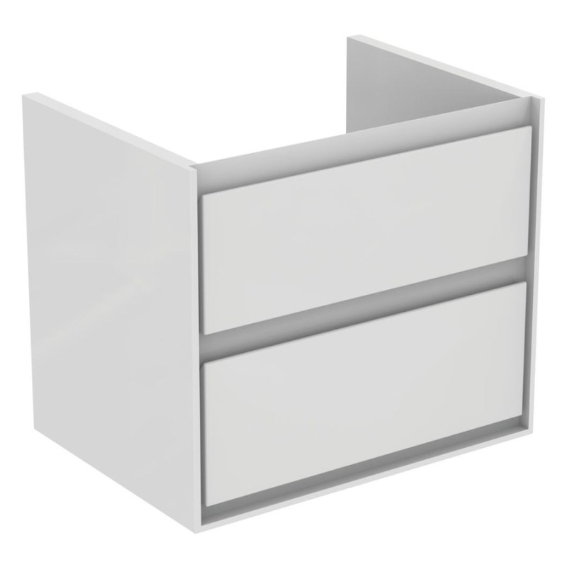 Ideal Standard Concept Air 60cm Wall Vanity Unit 2 Drawers E0818