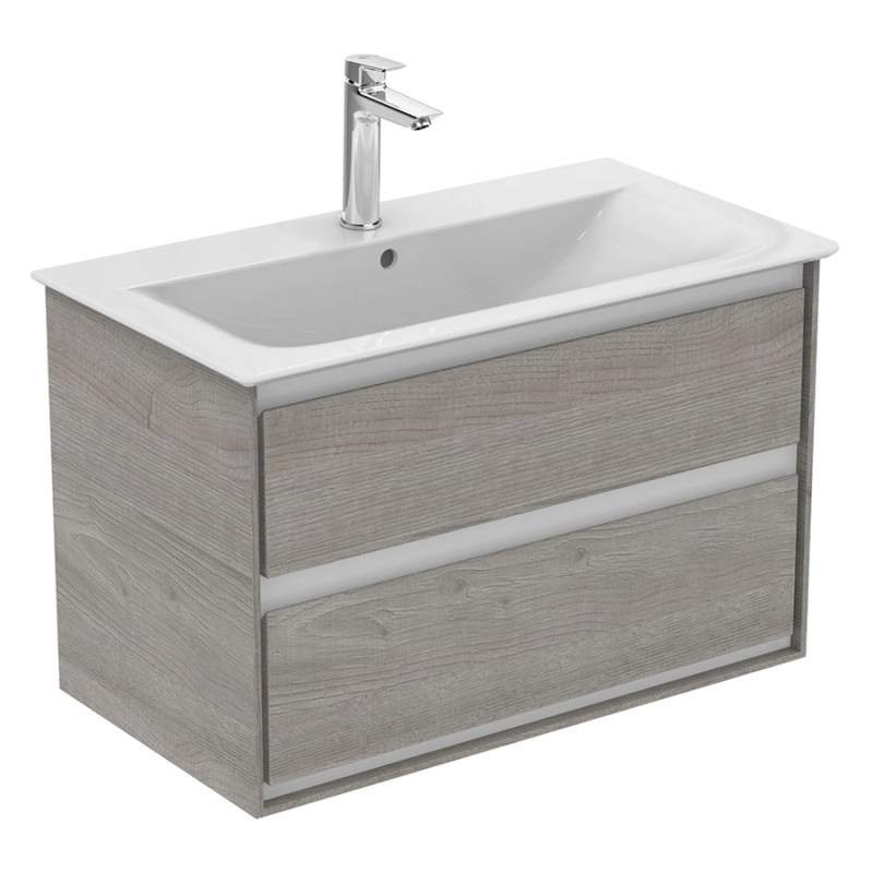 Ideal Standard Concept Air 800mm Vanity Unit E0819 Grey/White