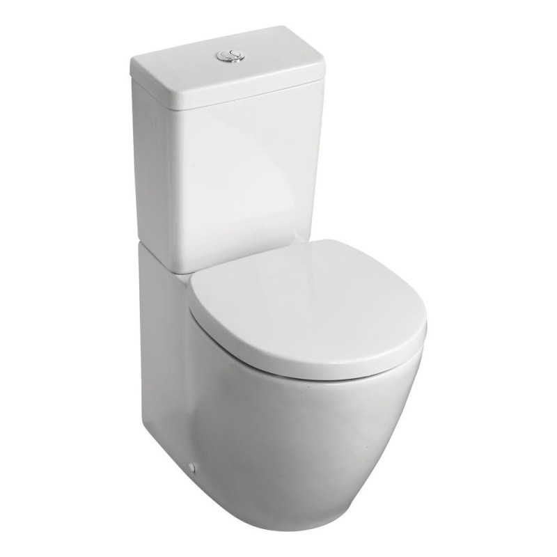 Ideal Standard Concept Space BTW Pan, Cube Cistern & Slow Seat