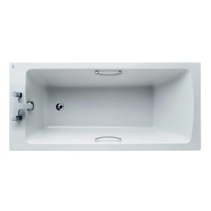Ideal Standard Tempo Arc Bath with Grips 150x70cm E1555