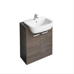 Ideal Standard Tempo 650mm Semi-Countertop Basin Unit White