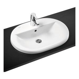 Ideal Standard Concept Oval 62cm Countertop Basin 1 Hole E5006
