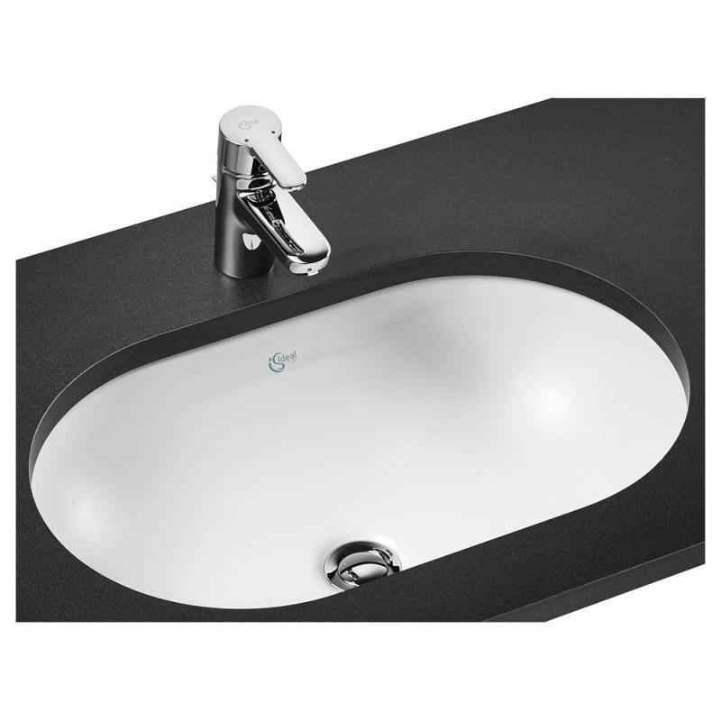 Ideal Standard Concept Oval 62cm Under-Countertop Basin E5022