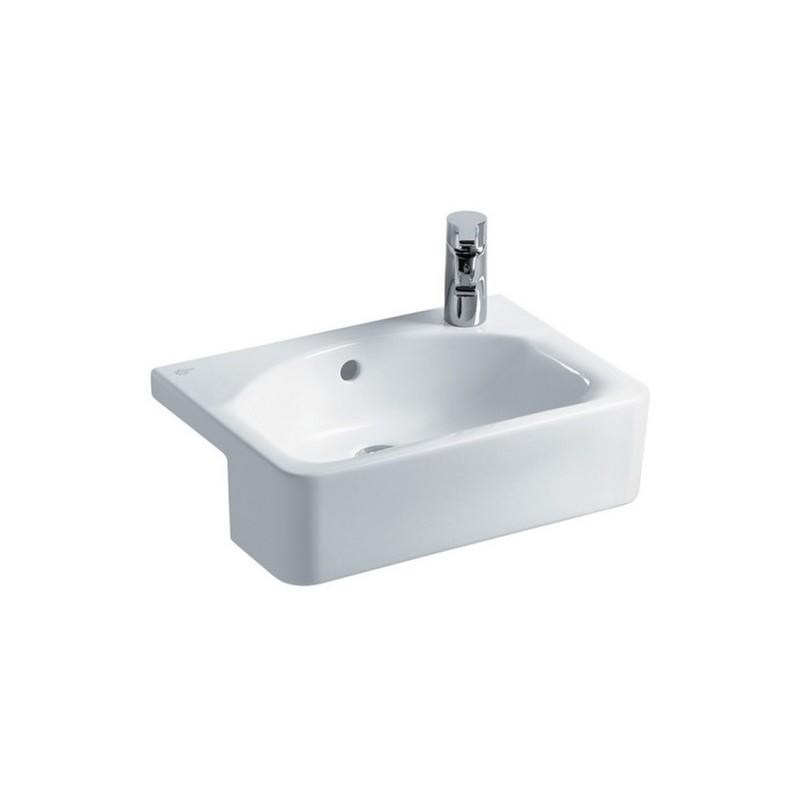 Ideal Standard Concept Cube 50cm Semi Countertop Washbasin E7799