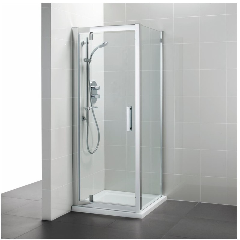 Ideal Standard Synergy 800mm Pivot Door L6202 Bright Silver
