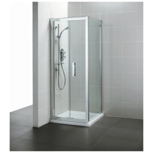 Ideal Standard Synergy 900mm Infold Door L6208 Bright Silver