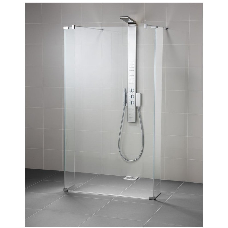 Ideal Standard Synergy Wet Room Panel L6228 Bright Silver