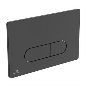 Ideal Standard Oleas M1 Mechanical Dual Flushplate Black
