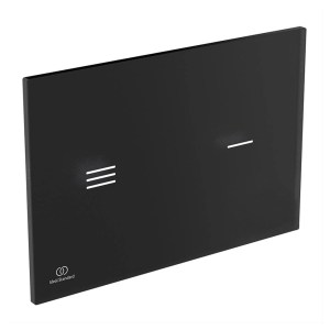 Ideal Standard Symfo NT1 Electronic Glass Dual Flush Plate Black R0129
