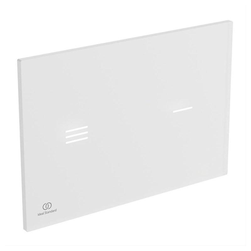 Ideal Standard Symfo NT1 Electronic (Proximity) Glass Flushplate White