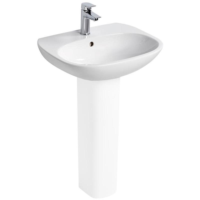 Ideal Standard Tesi Washbasin 1 Tap Hole 600mm T0265