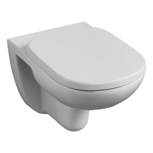Ideal Standard Tempo Wall Hung WC Bowl & Soft Close Seat Pack