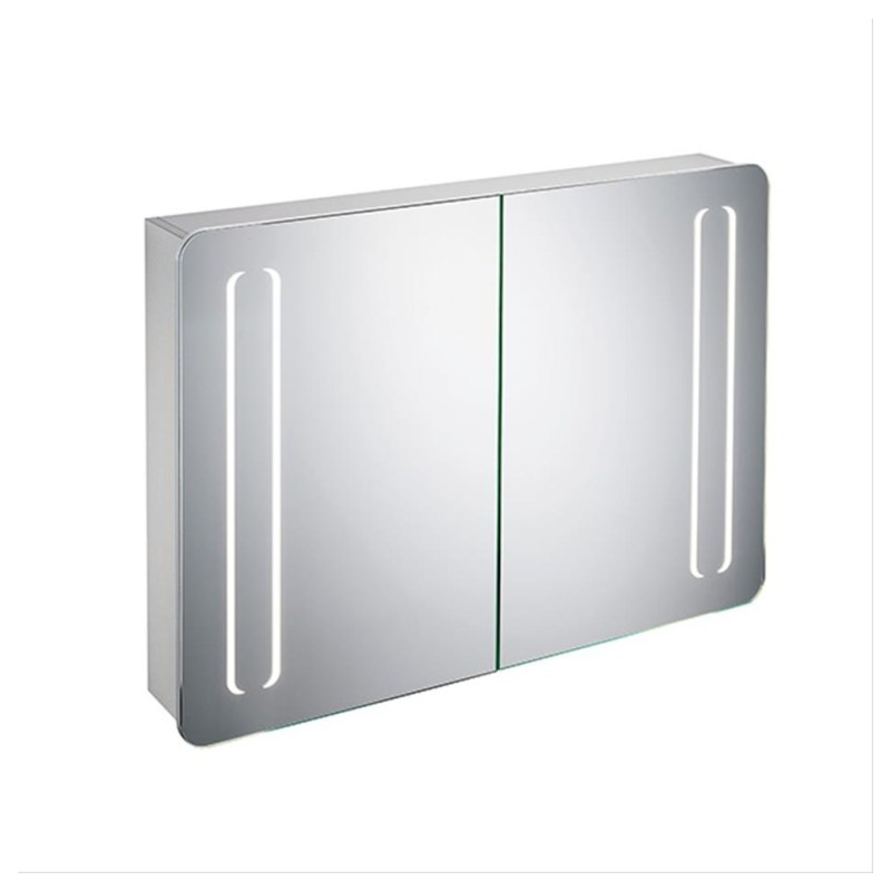 Ideal Standard 100cm Mirror Cabinet with Bottom & Front Light