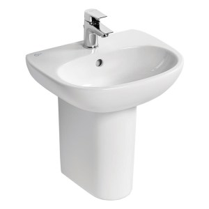 Ideal Standard Tesi Small Semi-Pedestal T3520 White