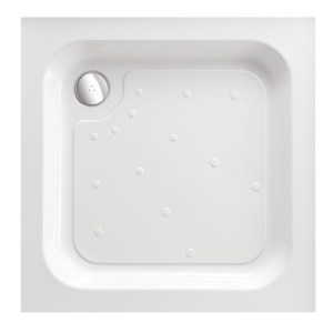 Just Trays Merlin 1000mm Square Shower Tray